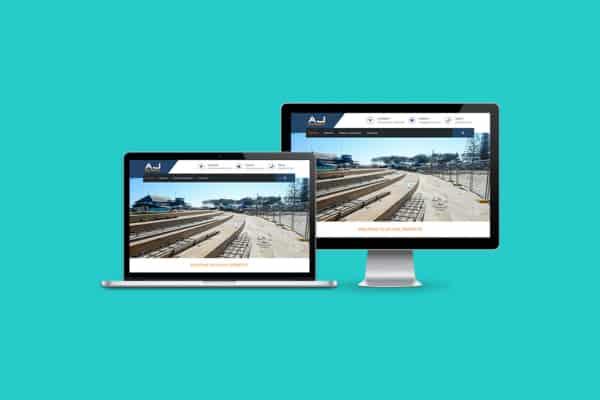 AJ Civil Projects WordPress CMS Website