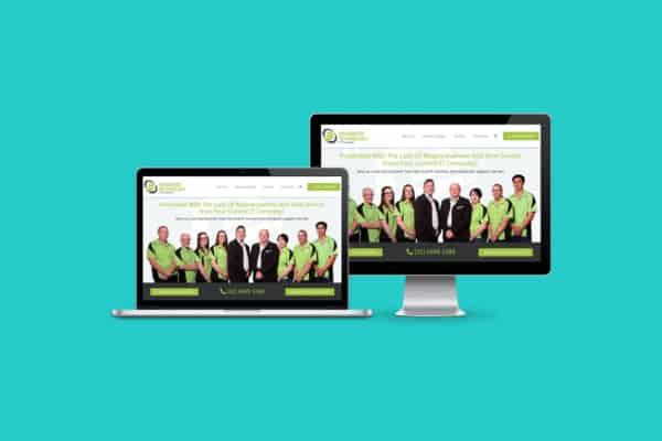 Advanced Technology WordPress CMS Website