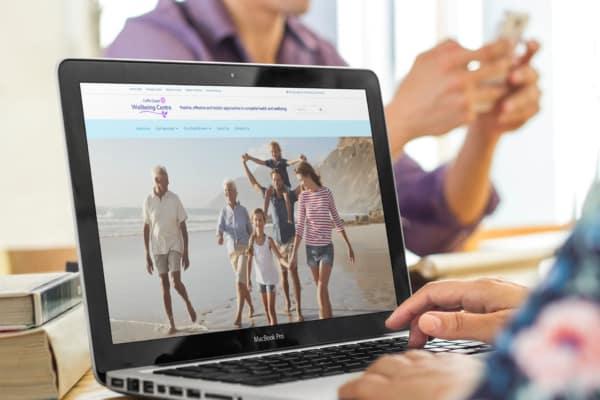 Coffs Coast Wellbeing Centre Website Mock-Up