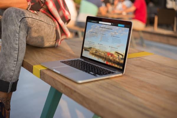 Coffs Harbour.biz Website Mock-Up