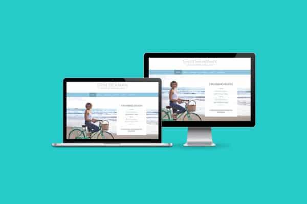 Erin Beaman WordPress CMS Website
