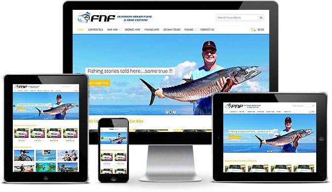 FNF Responsive Coffs Harbour Web Design
