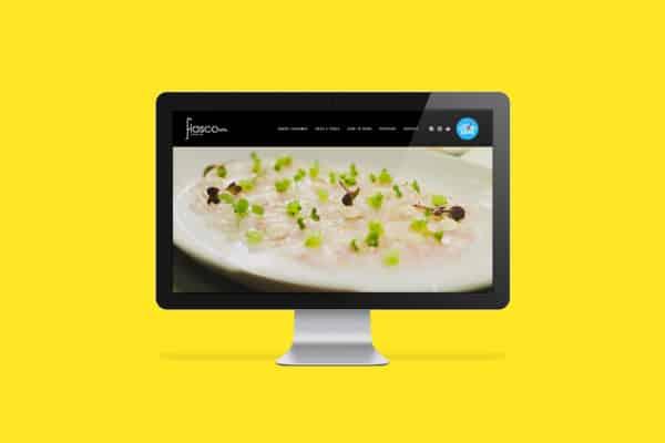Fiasco Ristorante + Bar Website