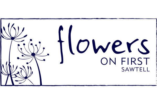 Flowers On First Logo