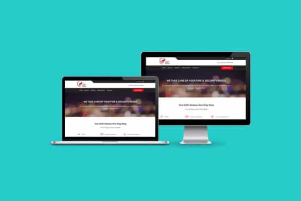 Harbour Fire & Security WordPress CMS Website