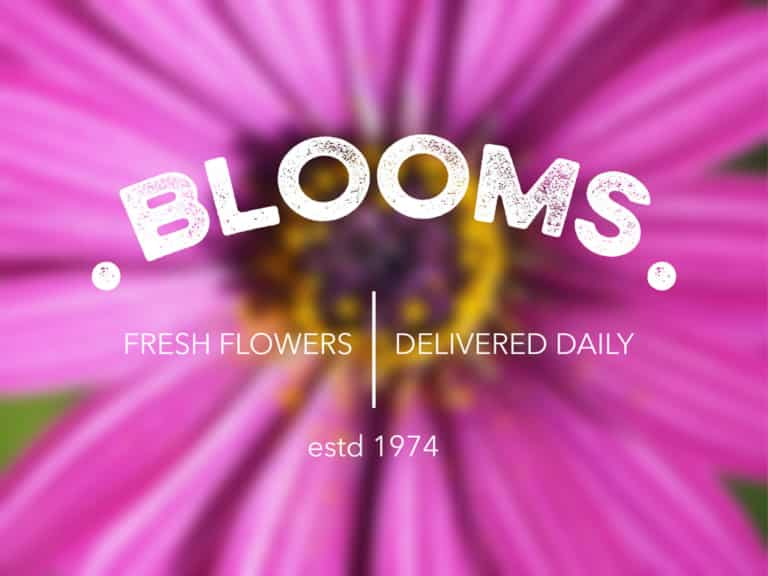 Logo Design for Blooms in Coffs Harbour