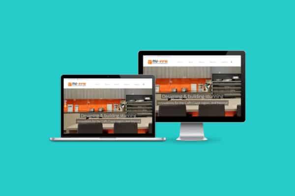 Nu Era Kitchens & Bathrooms WordPress CMS Website