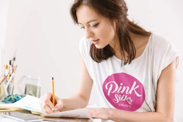 Pink Silks Logo Mock-Up