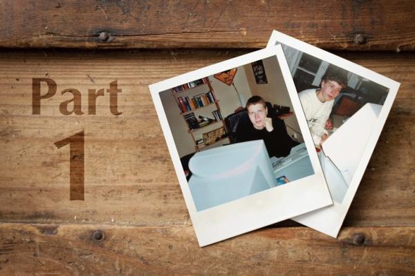 Retro Polaroids of Coffs Harbour Multimedia Designer Ralph Stulgies Part 1