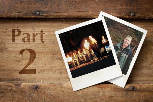 Retro Polaroids of Coffs Harbour Multimedia Designer Ralph Stulgies Part 2