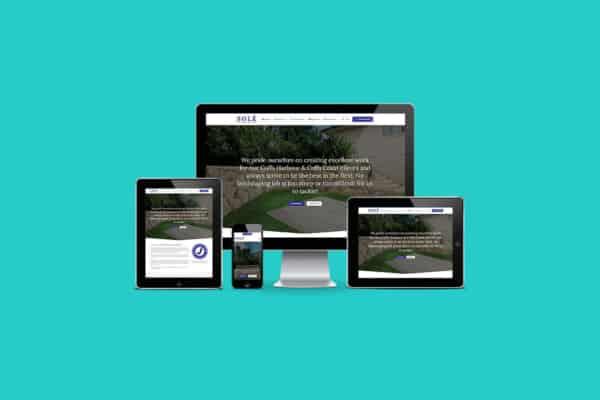 Solé Structural Landscapes Responsive Website