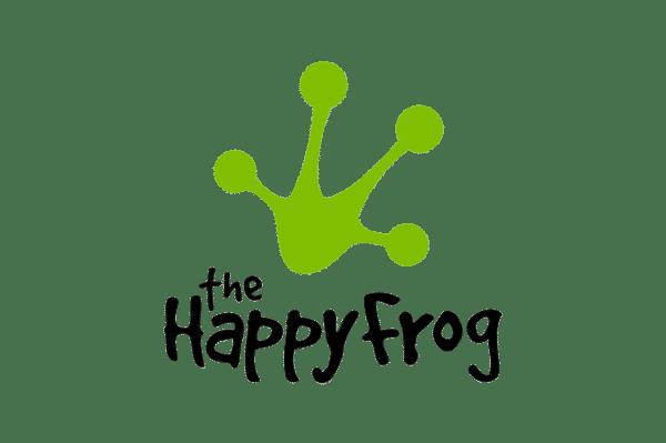 The Happy Frog Logo